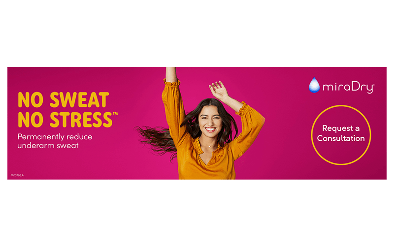 Introductory Offer – miraDry® – Sweat Reduction